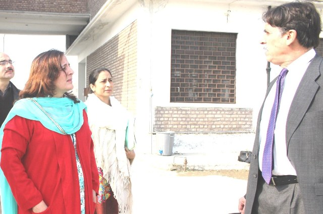 Respected Vice Chancellor University of Haripur Dr. Naseer Ali Khan Visit to Women University Swabi