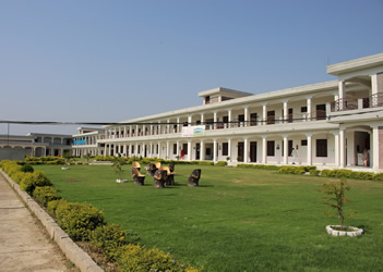Main Building Women University Swabi