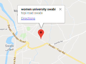 Women University, Swabi